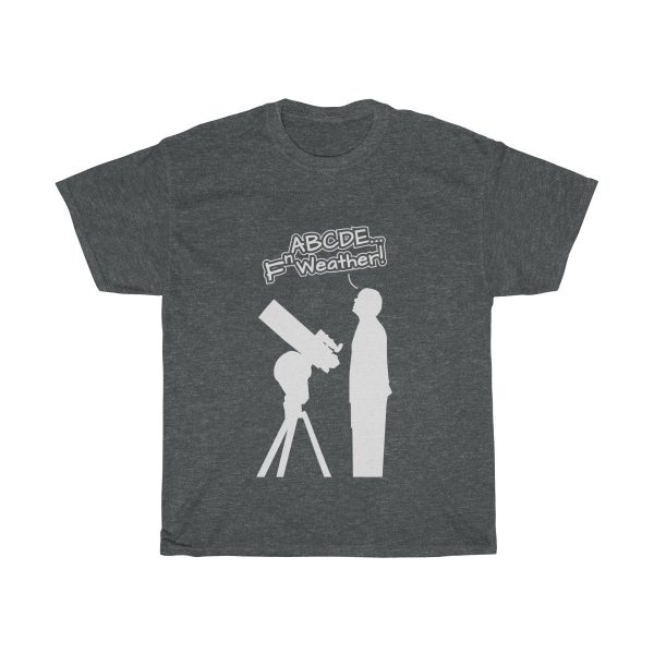 Fn Weather Astronomer t shirt gray