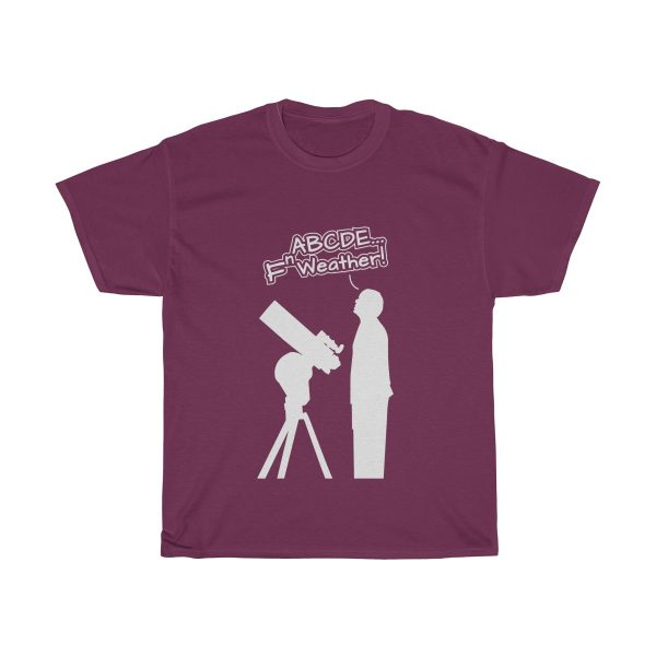 Fn Weather Astronomer t shirt purp