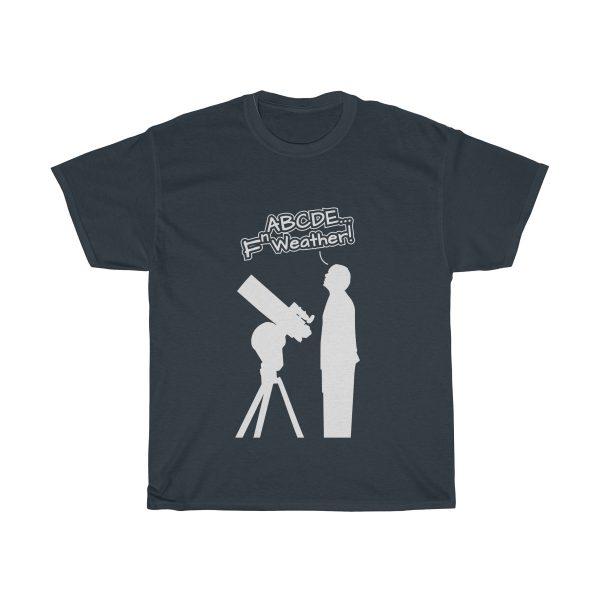 Fn Weather Astronomer t shirt navy