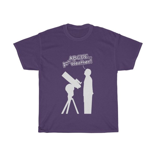 Fn Weather Astronomer t shirt purple