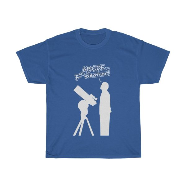 Fn Weather Astronomer t shirt blue