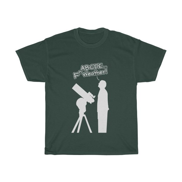 Fn Weather Astronomer t shirt forest