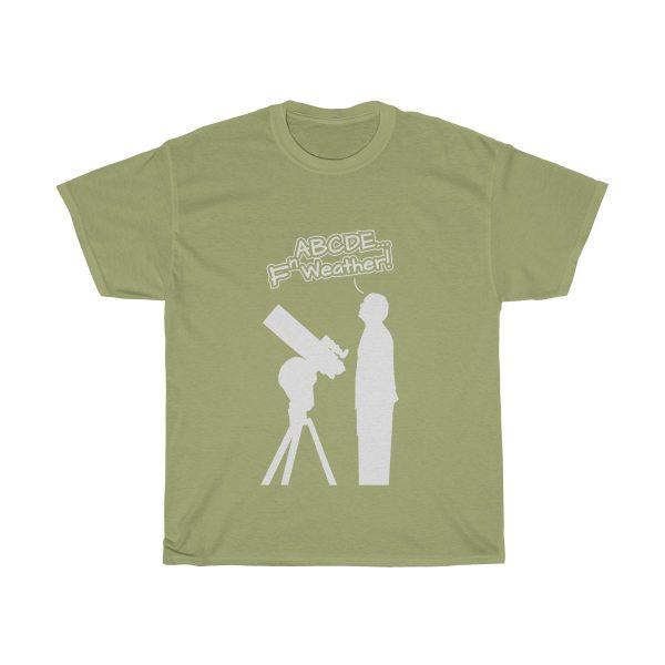 Fn Weather Astronomer t shirt kiwi